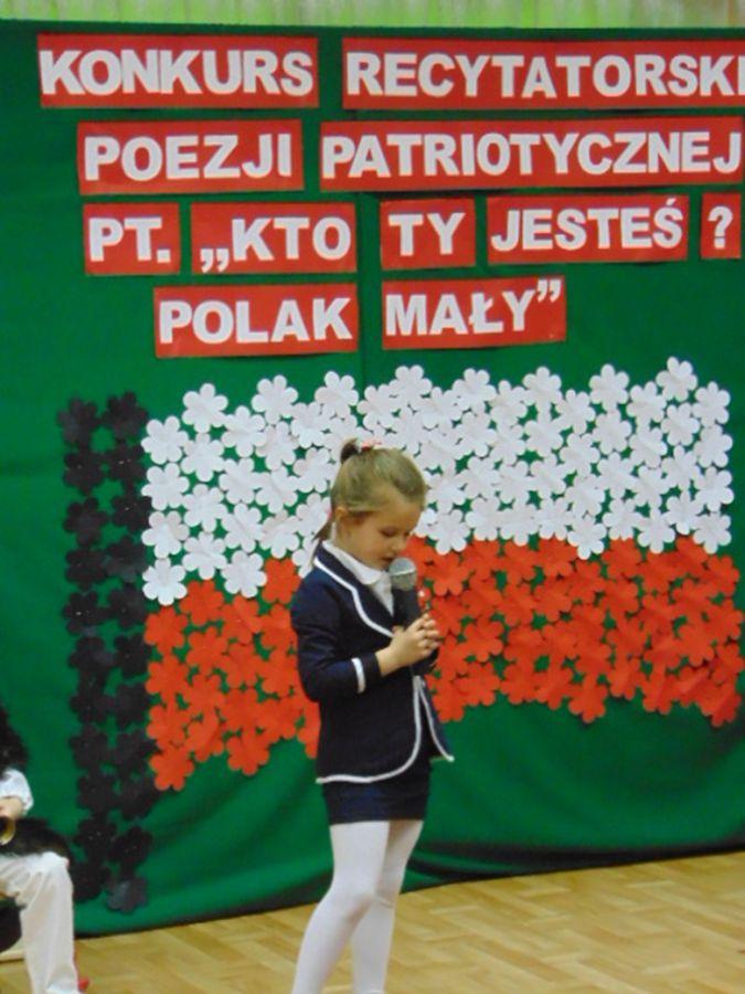 Kto Ty Jesteś Polak Mały Konkurs Wiersza Patriotycznego